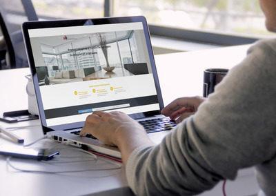 Landing page лэндинг для строительной фирмы
